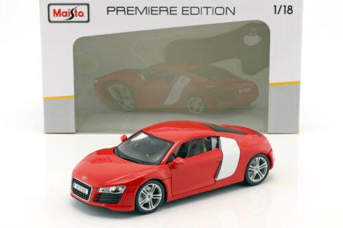 Audi R8 Rood 1:18 Maisto