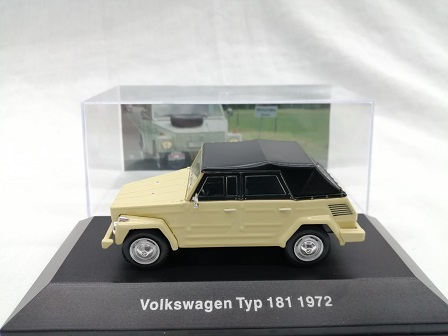 Volkswagen Type 181 1972 Beige 1-43 Altaya Volkswagen Collection
