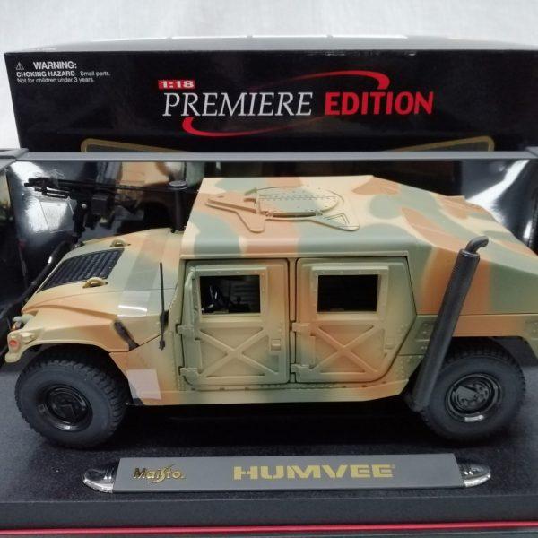 Hummer Humvee H1 1987 1-18 Maisto