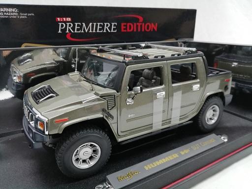 Hummer H2 SUT Concept 2000 1-18 Maisto