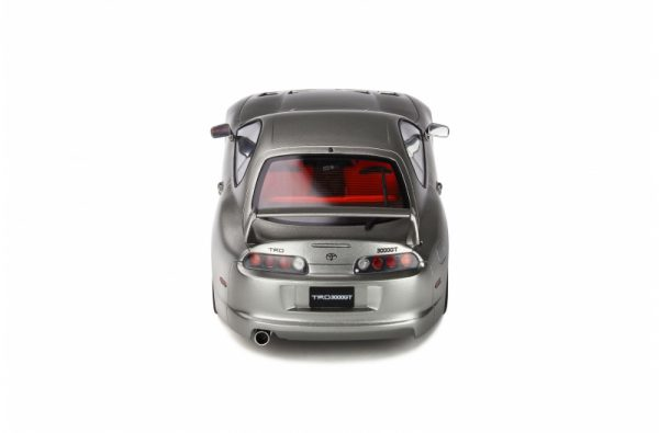 Toyota Supra 3000 GT TRD 1998 Quick Silver Metallic Clearcoat 1-18 Ottomobile Limited 1500 Pieces