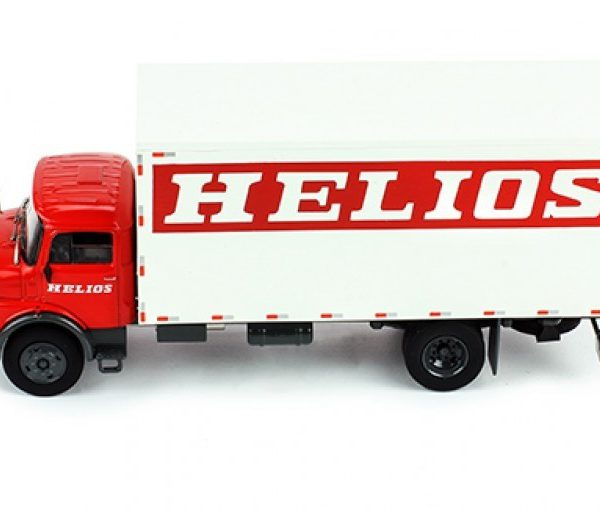 "Mercedes-Benz L 1113 LKW 1969 ""Helios"" Rood / Wit 1:43 Ixo Models"