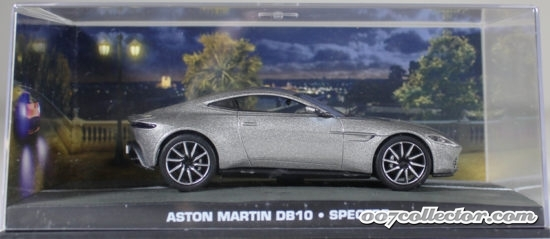 "Aston Martin DB10 Grijs ""Spectre"" 1/43 Altaya James Bond 007 Collection"