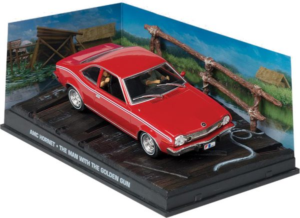 "AMC Hornet Rood ""The Man with the Golden Gun "" 1-43 Altaya James Bond 007 Collection"