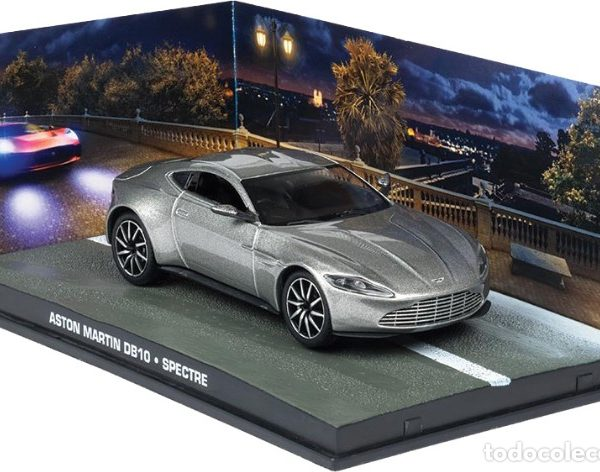 "Aston Martin DB10 Grijs ""Spectre"" 1/43 Altaya James Bond 007 Collection"