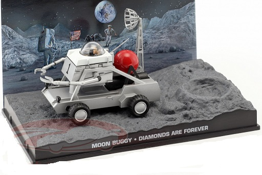 "Moon Buggy ""Diamonds are Forever"" 1-43 Altaya James Bond 007 Collection"