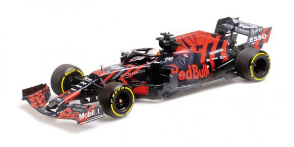 Aston Martin Red Bull Racing RB15 Max Verstappen Shakedown Livery Silverstone 13-2-2019 Minichamps 1-43
