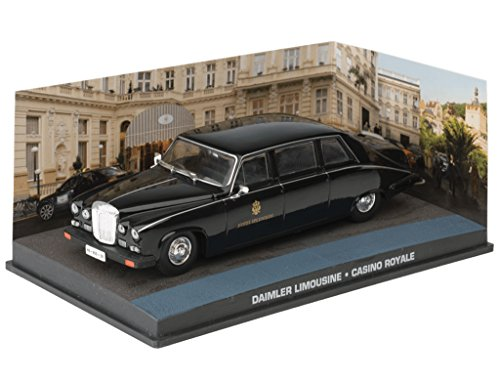 "Daimler Limousine Zwart ""Casino Royale "" 1-43 Altaya James Bond 007 Collection"