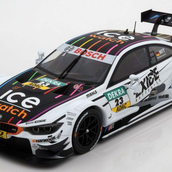 BMW M4 DTM 2014 BMW Team RMG Nr# 23 Wit M.Wittmann 1-18 Norev