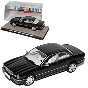 "Daimler Super Eight Zwart ""Quantum of Solace"" 1-43 Altaya James Bond 007 Collection"