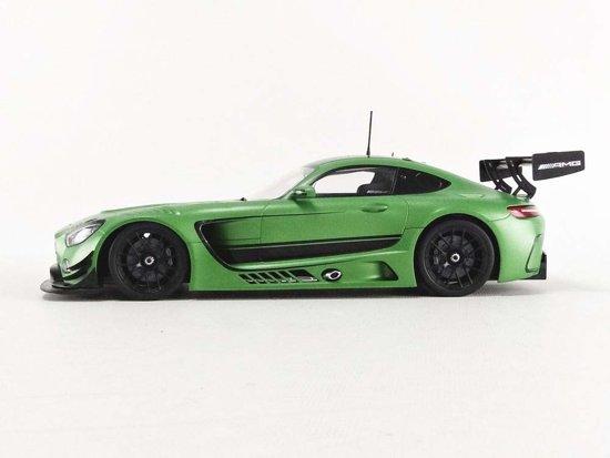 Mercedes-Benz AMG GT3 Mat Groen 1-18 Paragon