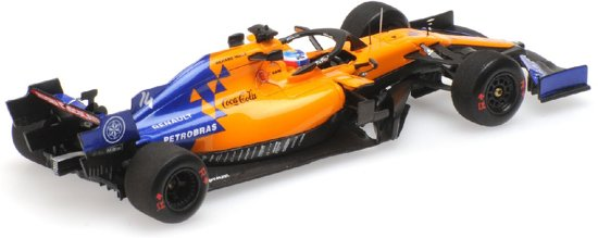 McLaren MCL34 F. Alonso Test Bahrain 2nd April 2019 Minichamps 1-43 Limited 350 Pieces