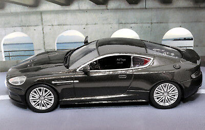 "Aston Martin DBS Donkergrijs ""Quantum of Solace"" 1-43 James Bond 007 Colllection"