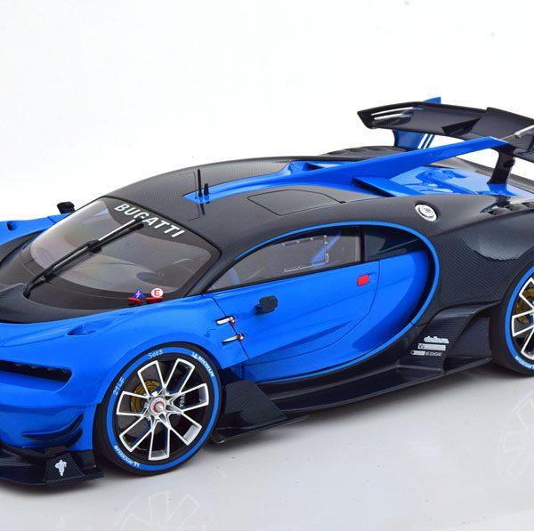Bugatti Vision GT 2015 Blauw / Zwart 1-18 Autoart
