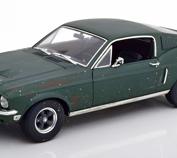 "Ford Mustang GT Fastback 1968 ""Bullit""Unrestored Version 1-18 Greenlight Collectibles"