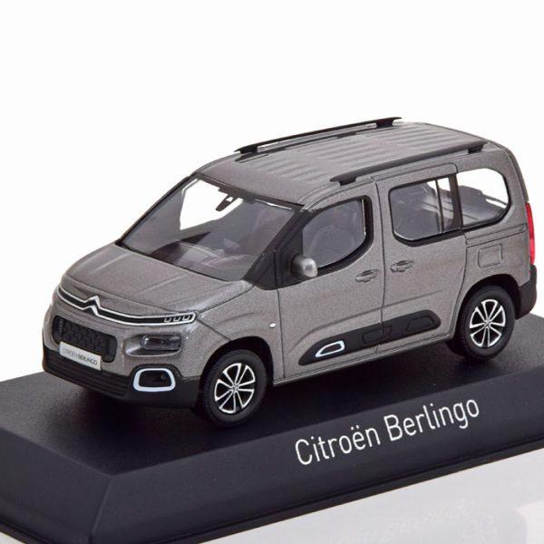 Renault Berlingo 2018 Grijs Metallic 1-43 Norev