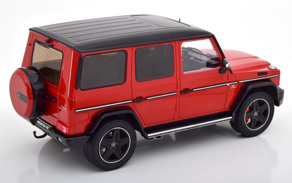 Mercedes-Benz G63 AMG 2015 ( Crazy Colors) Rood / Zwart 1-18 Iscale Limited 600 Pieces