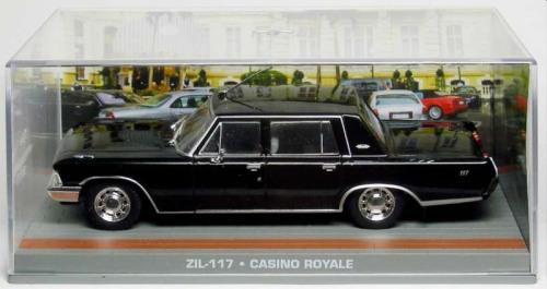 "Zil 117 Zwart ""Casino Royale""1-43 Altaya James Bond 007 Collection"