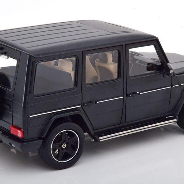 Mercedes-Benz G-Klasse 2015 ( W463 ) Designo Matzwart 1-18 Iscale Limited 500 Pieces