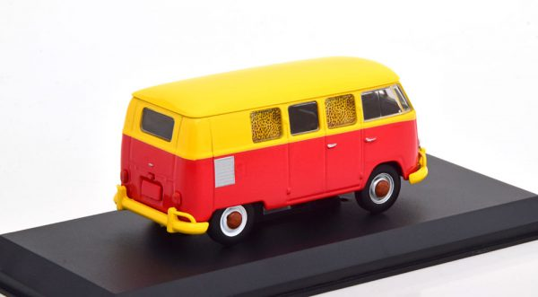 "Volkswagen Bus T1 ( Type 2 )1967 ""Fast Time at Ridgemont High"" Geel / Rood 1-43 Greenlight Collectibles"