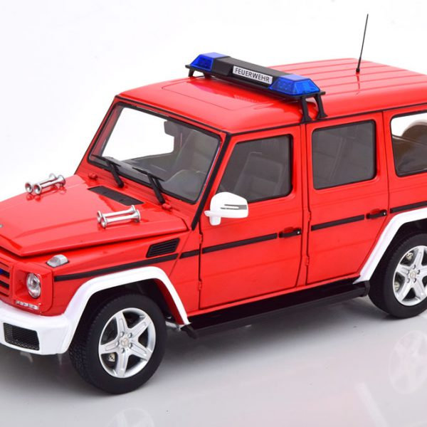 Mercedes-Benz G-Klasse 2015 ( W463 ) Brandweer Rood 1-18 Iscale Limited 500 Pieces
