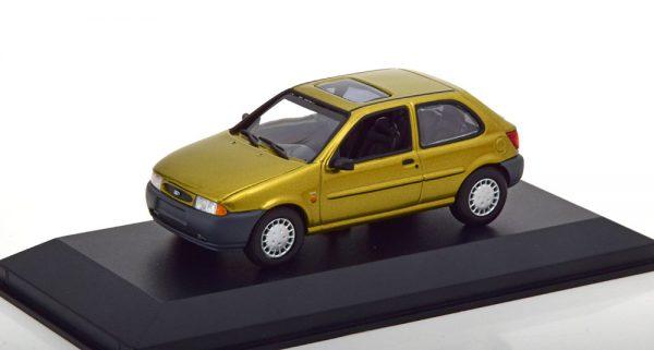 Ford Fiesta 1995 Goud 1-43 Maxichamps