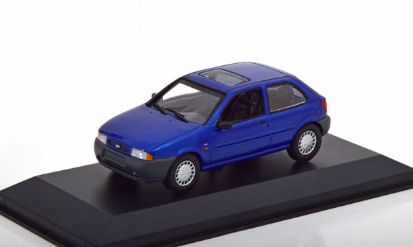 Ford Fiesta 1995 Blauw Metallic 1-43 Maxichamps
