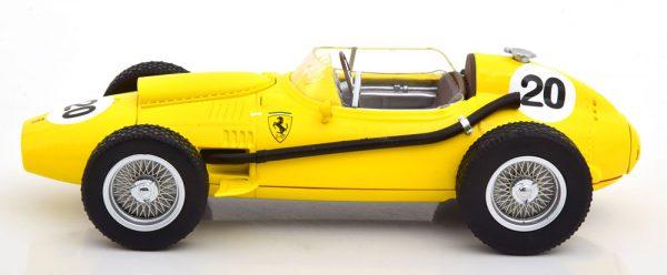 Ferrari Dino 246 Nr# 20 GP Belgium 1958 O.Gendebien Geel 1-18 CMR Models