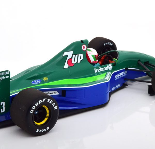 Jordan Ford 191 GP Canada 1991 De Cesaris 1-18 Minichamps Limited 204 Pieces