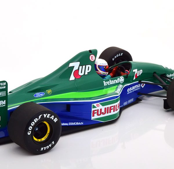 Jordan Ford 191 GP England 1991 B.Gachot 1-18 Minichamps Limited 204 Pieces
