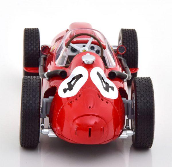 Ferrari Dino 246 Nr# 4 F1 GP Frankrijk 1958, World Champion M.Hawthorn Rood 1-18 CMR Models