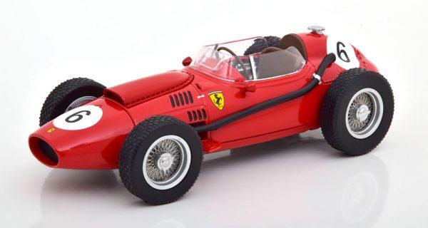Ferrari Dino 246 Nr# 6 GP Marokko 1958 World Champion M.Hawthorn Rood 1-18 CMR Models