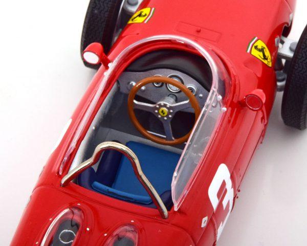 Ferrari 156 Sharknose Nr# 3 GP Nürburgring en Winner Dutch GP 1961 Graf Berghe von Trips Rood 1-18 CMR Models