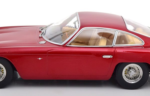 Lamborghini 400 GT 2+2 1965 Rood Metallic 1-18 KK Scale Limited 500 Pieces