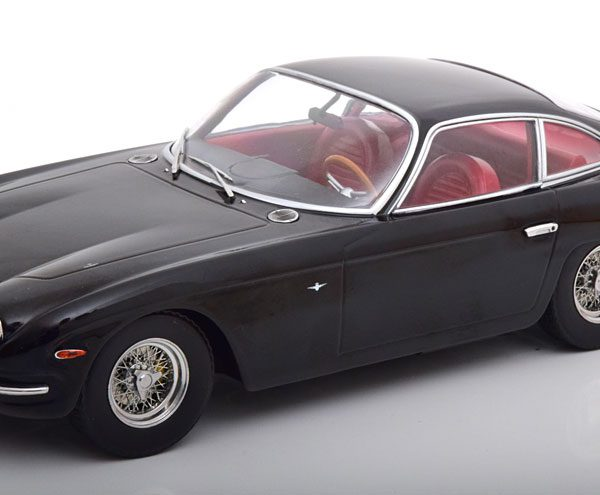 Lamborghini 400 GT 2+2 1965 Zwart 1-18 KK Scale Limited 750 Pieces