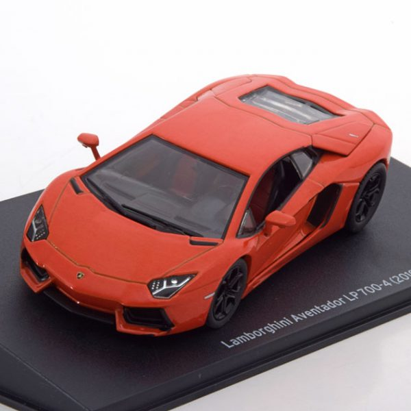 Lamborghini Aventador LP700-4 2010 Oranje Metallic 1-43 Altaya Lamborghini Collection