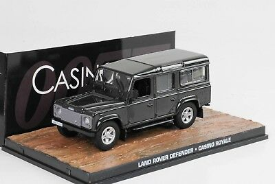 "Land Rover Defender "" Casino Royale ""1-43 Altaya James Bond 007 Collection"