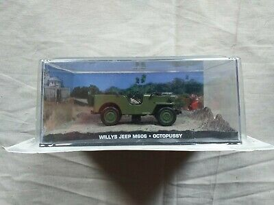 """Willys Jeep M606 Groen """"Octopussy """" 1-43 Altaya James Bond 007 Collection"""
