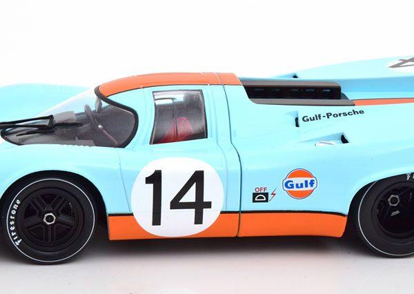 """Porsche 917K No.14, 12h Sebring 1970 """"Gulf """" Siffert/Redman/Kinnunen 1-18 CMR Models"""
