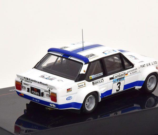 Fiat 131 Abarth No.3, RAC Rally 1979 Röhrl/Geistdoerfer 1-43 Ixo Models