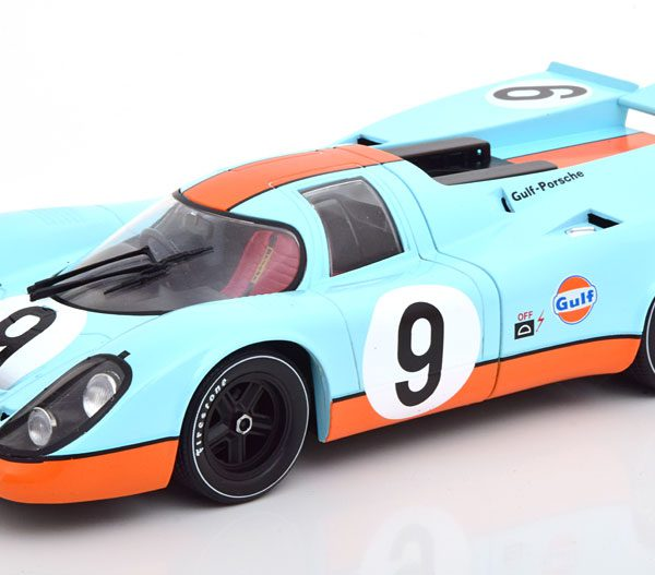 "Porsche 917K No.9, 1000km Brands Hatch 1970 ""Gulf "" Siffert/Redman 1-18 CMR Models"