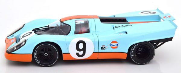 "Porsche 917K No.9, 1000km Brands Hatch 1970 ""Gulf "" Siffert/Redman 1-18 CMR Models"