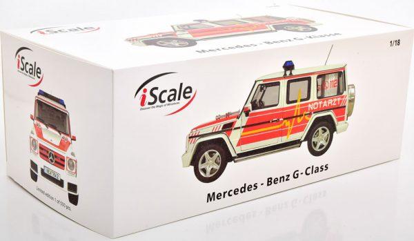 Mercedes-Benz G-Klasse 2015 ( W463 ) Notarzt 1-18 Iscale Limited 500 Pieces