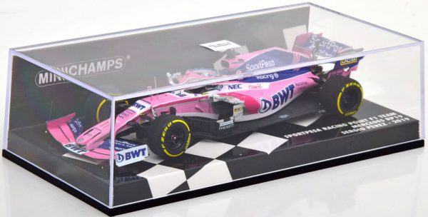 Racing Point F1 Team Mercedes RP19 S.Perez 1-43 Minichamps ( Resin )