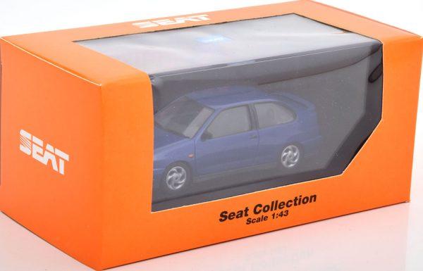 Seat Cordoba SX 1998 Blauw Metallic 1-43 Herpa