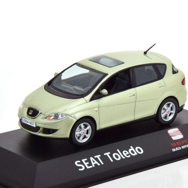Seat Toledo 2004-2009 Lichtgroen Metallic 1-43 Fischer