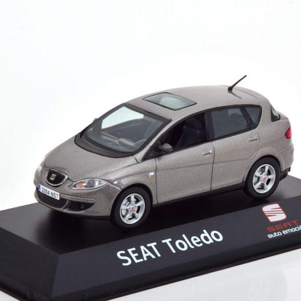 Seat Toledo 2004-2009 Grijs Metallic 1-43 Fischer