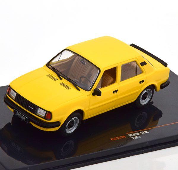 Skoda 120L 1983 Geel 1-43 Ixo Models