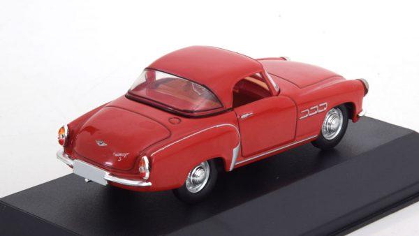 "Wartburg 313/1 Sport ""DDR Auto Kollection"" Rood 1-43 Atlas"