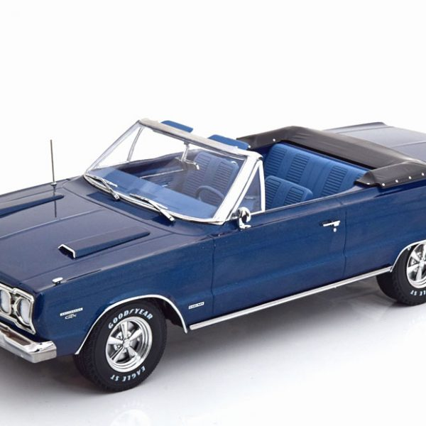 "Plymouth Belvedere GTX ""TV Serie Graveyard Carz"" Blauw 1-18 Greenlight Collectibles"